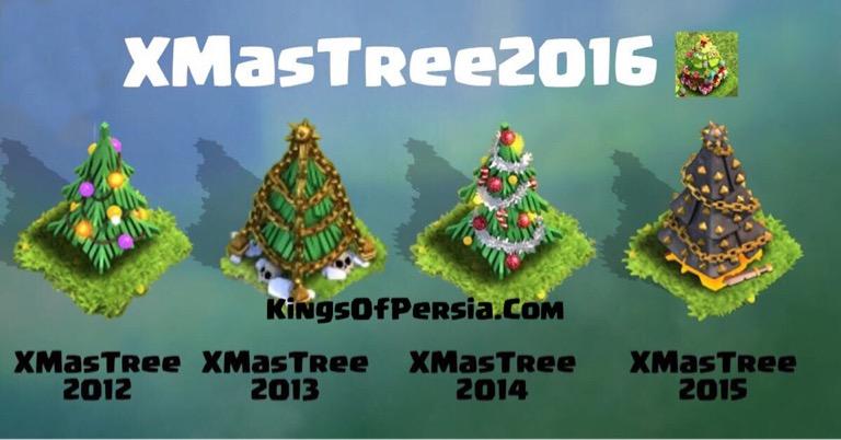 درخت های کریسمس در کلش