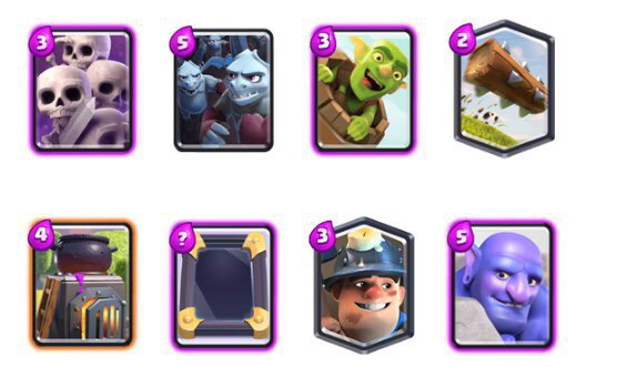 best deck CLASH ROYALE
