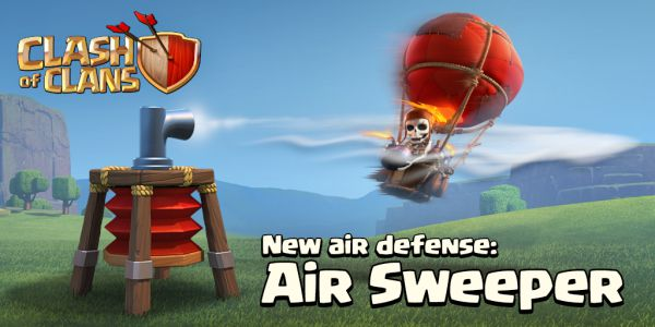 Air Sweeper sneak peek