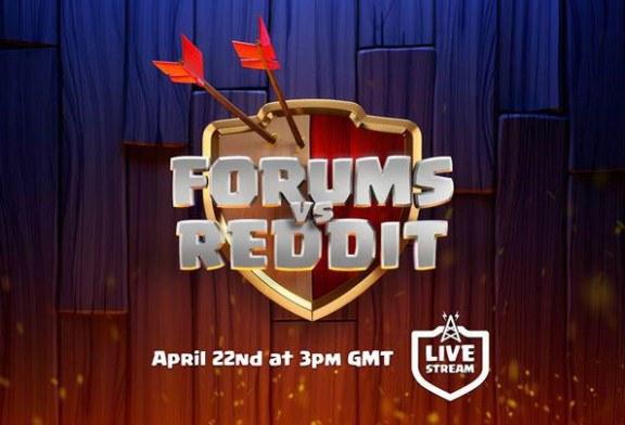 مسابقات نهایی کلش او کلنز Forums vs Reddit !