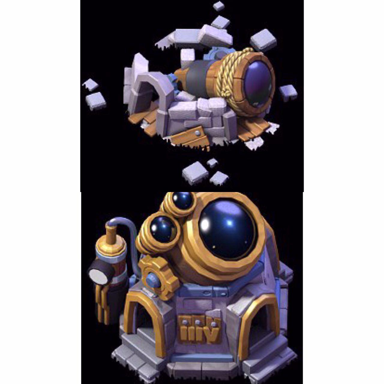 لابراتور لول یک و لاب لول ۸ در ورژن جدید بازی.