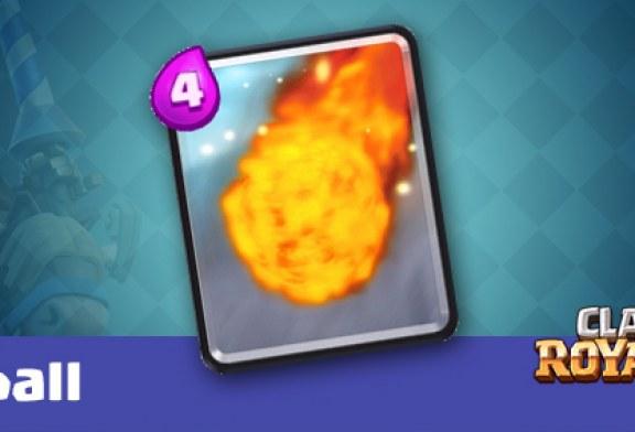 معرفی کارت Fireball در کلش رویال به همراه بهترین دک های این کارت
